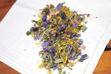 Tee Kräuter getrocknet