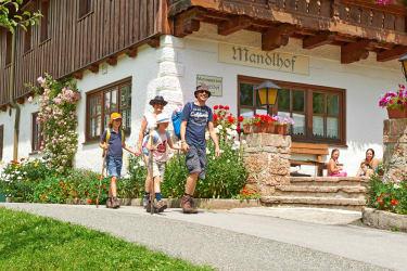 Sommerurlaub am Bauernhof Mandlhof