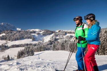 Skifahren Moosegg
