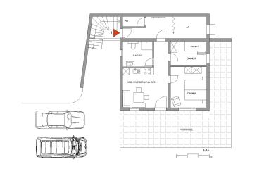 Apartment Erdgeschoß