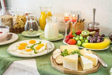 Käse und Eier