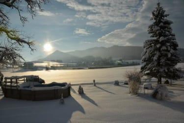 Winter am Bio Bauernhof Paulbauer