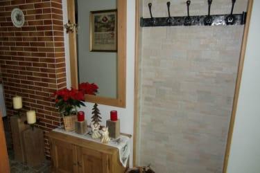 Weihnachtsstimmung im Eingangsbereich
