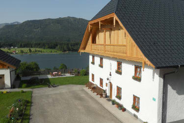 Ausblick vom Gästehaus