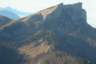 Luftaufnahme- Schafberg