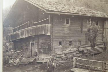 Bauernhaus im Jahre 1942