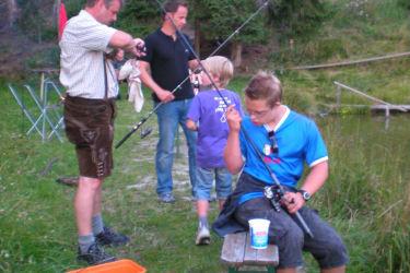 Fischen ist des Fischers Lust