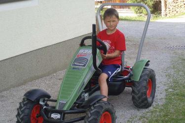 Our big go-kart