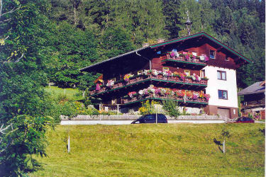Waldhof mit Partplatz direkt  beim Haus