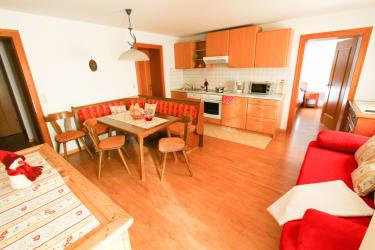 Küchen- und Wohnbereich Schöner Ausblick
