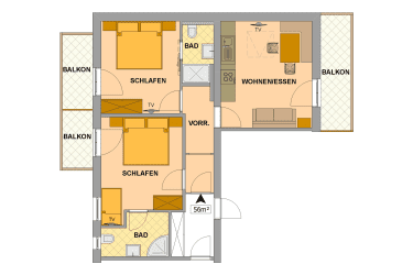 Appartement Bergzauber