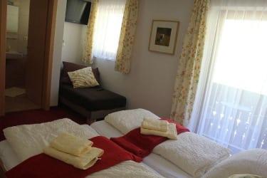 Schlafzimmer Almrausch / Bergzauber