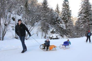 Winter Schneewanderung