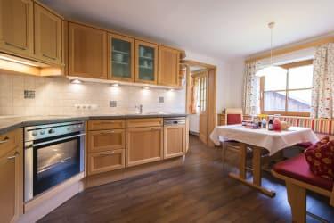 Biohof Maurachgut - Appartement Bergblick - Küche