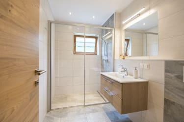 Biohof Maurachgut - Appartement Schlossalmblick - Badezimmer