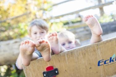 Urlaub am Bauernhof mit Kindern - einfach KIND sein