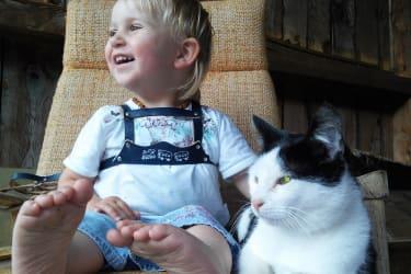 Tiere zum Streicheln - Unsere Schmuse-Katze