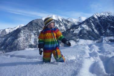 Schneelandschaft erkunden