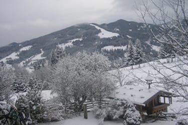 Blick auf Skigebiet Altenmarkt Radstadt