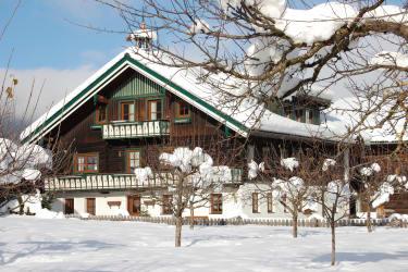 Unser Bauernhaus im Winter-herrlich, soooo viel Schnee
