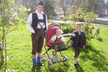 Georg, Anna und Johannes