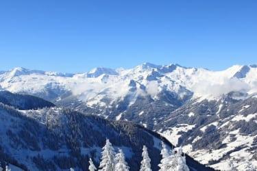 Großarler Bergpanorama im Winter