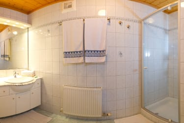Duschraum der Fewo I.