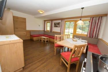 Küche/Wohnraum Appt. ALMRAUSCH
