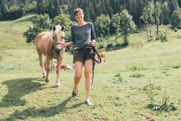 Unser Pferd Lisl