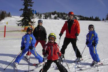 Familienfoto Winter
