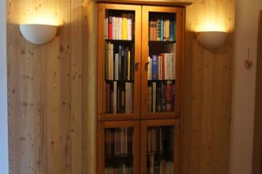 Bücherregal/Leseecke