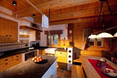 Küche der Kuschelhütten