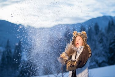 Winterwunderland Proneben Gut