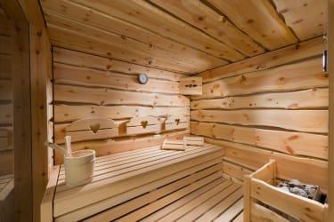 5 Herzen Sauna Zirberl