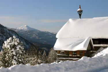 Ferienhütte mit Lackenkogel