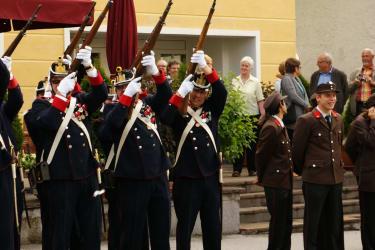 Andreas bei der Garde