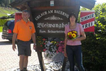Herzlich willkommen am Bleiwanghof