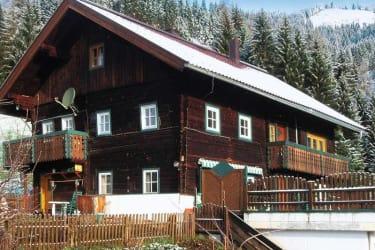 Bauernhaus Gschwandner St. Johann Außenansicht Winter