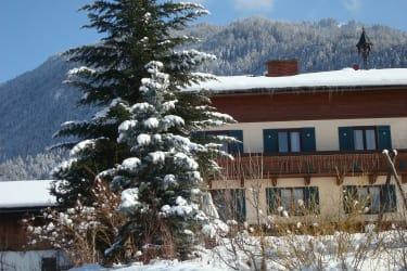 Winterfoto Haus