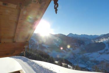 Aussicht vom Balkon aus