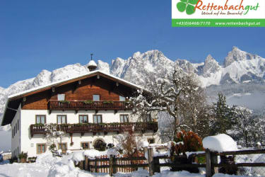 Rettenbachgut in Werfen im Winter