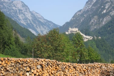 Aussicht auf die Burg