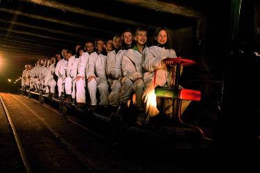 Salzbergwerk Hallein begeistert alle Kinder in 45km Entfernung