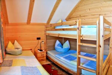 Kinderzimmer Bioblockhaus