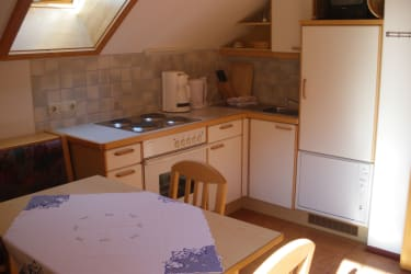 Wohnküche mit Eßecke