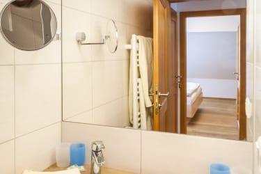 Badezimmer Burgblick