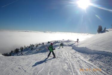 Im Tal der Nebel am Fanningberg die pure Sonne huhu
