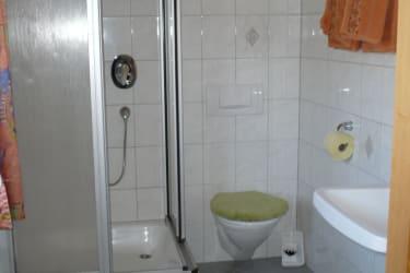 Dusche /WC - Zimmer 3