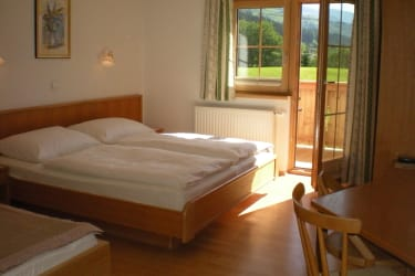 Doppelzimmer Morgensonne mit Balkon