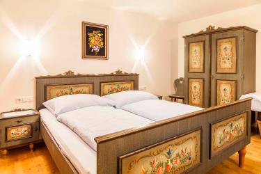 Bergblick Schlafzimmer